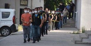 Adana'da firari hükümlülere yönelik şafak operasyonu düzenlendi