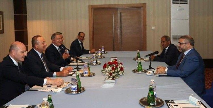 Türk üst düzey heyeti, Libya Başkanlık Konseyi Başkanı el-Menfi ile görüştü