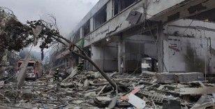 Çin'de doğal gaz patlaması: En az 11 ölü