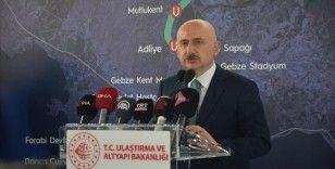 Bakan Karaismailoğlu: Kanal İstanbul'un ilk köprüsünün temelini 26 Haziran'da atıyoruz