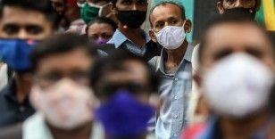 Hindistan'da son 74 günün en düşük vaka sayısı