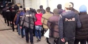 Şırnak'ta terörün finans kaynağına darbe: 37 gözaltı