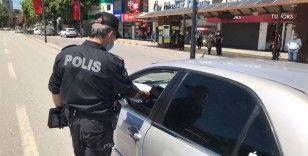Malatya'da kısıtlamayı ihlal eden 22 kişiye 19 bin 800 lira ceza