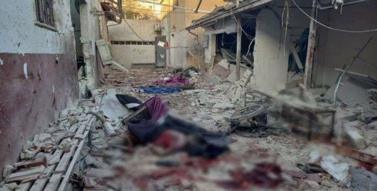 PKK'nın saldırdığı hastane harabeye döndü!