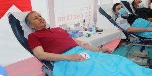 İstanbul Valisi Ali Yerlikaya kan bağışında bulundu