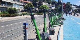 Elektrİkli scooterlar kazaya davetiye çıkartıyor