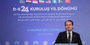 İstanbul'da 'D-8 ile Yeni Bir Dünya' temalı uluslararası zirve düzenlendi