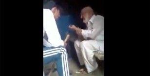 Hindistan'da yaşlı bir Müslüman'ın Hindu aşırılıkçılar tarafından darp edilmesi tepkiye yol açtı