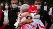 Kıbrıs Gazisi anısına düzenlenen 861 kilometrelik bisiklet turu Ordu'da sonlandı