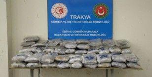 Yakıt deposunda 116 kilo uyuşturucu ele geçirildi