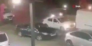 Bayrampaşa'da 1 kişinin öldüğü feci kaza kamerada