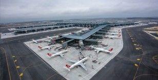 İstanbul Havalimanı, 635 uçuşla Avrupa'da zirveyi bırakmadı