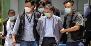 Hong Kong'da muhalif gazeteye 500 polisle baskın