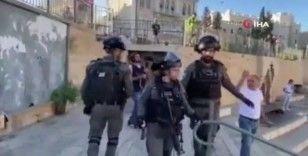 İsrail polisinden Kudüs'te Filistinlilere müdahale: 2 gözaltı