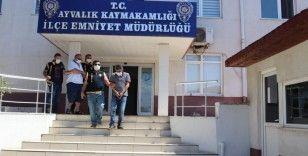 Ayvalık'ta polisten fuhuş operasyonu