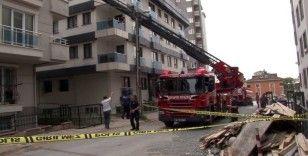 Ümraniye'de evde çıkan yangında anne hayatını kaybetti, 5 yaşındaki çocuk ağır yaralı
