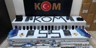 Samsun merkezli 6 ilde cep telefonu kaçakçılığı operasyonu: 18 gözaltı