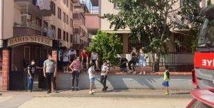 Bursa'da öğrenci yurdunda korkutan yangın