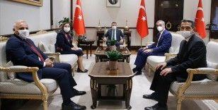 Cumhurbaşkanı Yardımcısı Oktay, TBB heyetini kabul etti