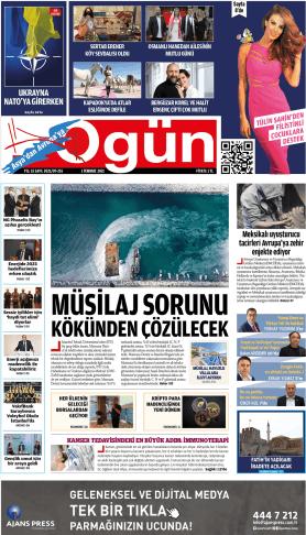 OGÜN Gazetesi Sayı:255