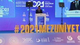 YTB Başkanı Eren: 'Bu sene 2 bin 300'den fazla öğrencimizi mezun ediyoruz'
