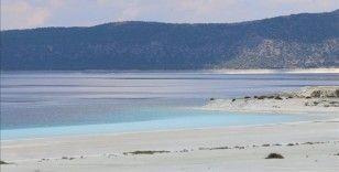Salda Gölü'nde alınan tedbirlerle Beyaz Adalar doğal görünümüne kavuştu