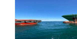 İstanbul Boğazı'nda gemi arıza yaptı