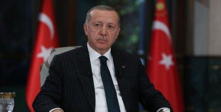 Cumhurbaşkanı Erdoğan, Filistin Devlet Başkanı Mahmud Abbas ile Vahdettin Köşkü'nde görüştü