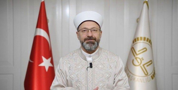 Diyanet İşleri Başkanı Erbaş: 'İnancımıza göre mabedler dokunulmazdır'