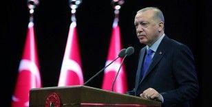 Cumhurbaşkanı Erdoğan: Gençler ülkemizin geleceğini hem inşa hem de ihya edecek