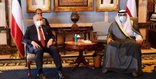 Şentop, Kuveyt'de Emir Vekili ve Veliaht Prens Şeyh Meş'al Al Cabir Al Sabah ile görüştü