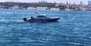 Denizde kaybolan AA çalışanını arama çalışmaları sürüyor
