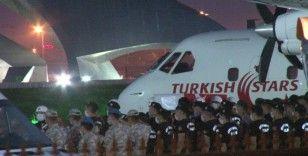 Şehit Hasan Cevher'in naaşı İstanbul'a getirildi