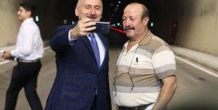 Cumhurbaşkanı Erdoğan Ankara'dan katıldı, Bartın yolu görkemli törenle açıldı