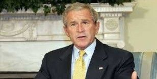 George W. Bush: 'Afganistan'dan geri çekilmek bir hata'