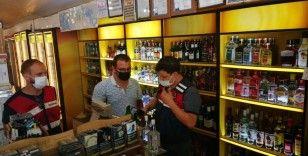 Antalya'da 25 litre sahte içki ele geçirildi