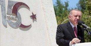 Cumhurbaşkanı Erdoğan, 15 Temmuz kahramanlarını videolu paylaşımla andı