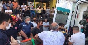 Kanalizasyon çalışması sırasında göçük altında kalan işçi kurtarıldı