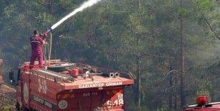 Osmaniye'deki yangın spiral makinesinin kıvılcımından çıktı