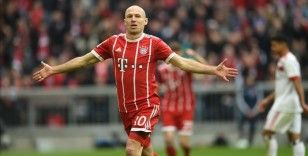 Arjen Robben futbolu bıraktı