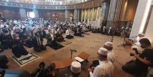 15 Temmuz şehitleri için Taksim Camii'nde mevlit programı düzenlendi