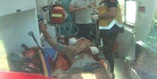 Beykoz'da defineciler, çukuru patlatmak isterken kendilerini havaya uçurdu