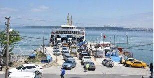 Çanakkale gemi trafiğine bayram seferi