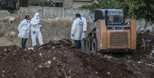 Afrin'de toplu mezardan çıkarılan ceset sayısının 61 olduğu açıklandı