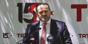 TRT Genel Müdürü Sobacı: 15 Temmuz'u yayınlarla anmaya, tüm platformlarda anlatmaya devam edeceğiz