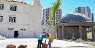 Diyarbakır'da 15 Temmuz şehitleri için 251 fidan dikildi