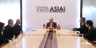Dışişleri Bakanı Çavuşoğlu, Afganistan Cumhurbaşkanı Gani ile bir araya geldi