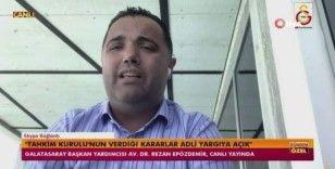 """Rezan Epözdemir: """"TFF yönetimi 4 gündür talebimize karşı karar vermemek için toplanmadı"""""""
