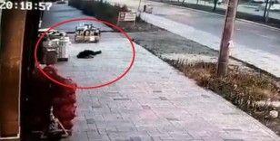 Eşinin öldürdüğü polisin balkondan düşme anının görüntüsü ortaya çıktı