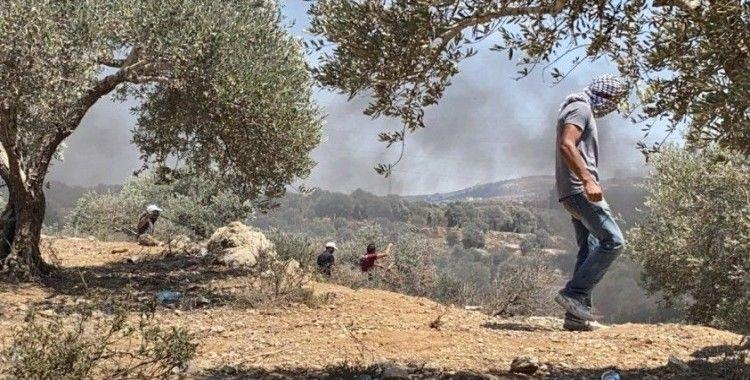 İsrail güçlerinden Nablus'ta Filistinli göstericilere müdahale: 108 yaralı